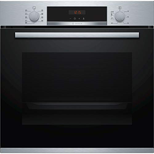 41xn i3tw L. SS500  - Bosch Series 4 HBS573BS0B Stainless Steel, Pyrolytic Built-In Oven with 71L Capacity, AutoPilot 10 and Retractable Control Dials