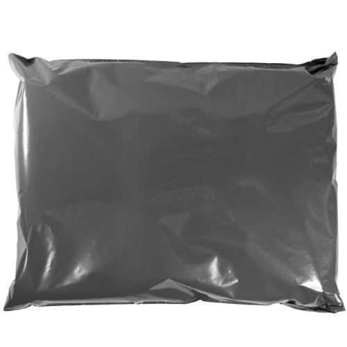 Grey Mailing Bags Strong 9 x 12 Inch (229x305mm) Plastic Polythene Postage Mail Sacks
