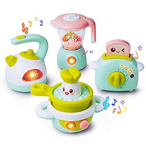 GizmoVine Jeux Enfant 3 Ans Jouet Cuisine pour Enfant Jouets De Rôle Play Set Jeu D'imitation pour Anniversaire pour Anniversaire Fille Garcon