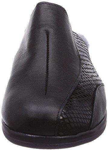 Gevavi Safety 1336 VACHT Damen Clogs Schwarz (schwarz(zwart) 00)