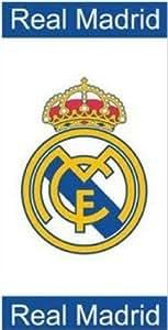 100% Coton Real Madrid Serviette de bain- Drap de plage
