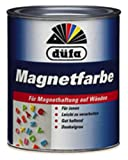 Düfa Magnetfarbe für Magnethaftung auf Wänden GRAU 0,75 L