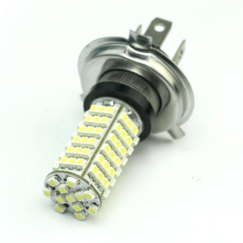 Rhx H4 102 LED 3528 SMD Lampe (Weiß, 12 V) für Scheinwerfer / Nebelleuchte