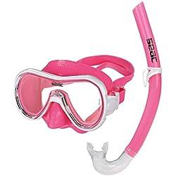 Seac Set Panarea MD, Kit snorkeling pour enfant avec masque et tuba