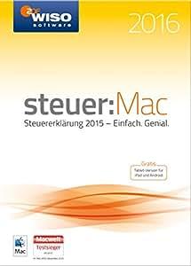 WISO steuer:Mac 2016 [Mac Download]