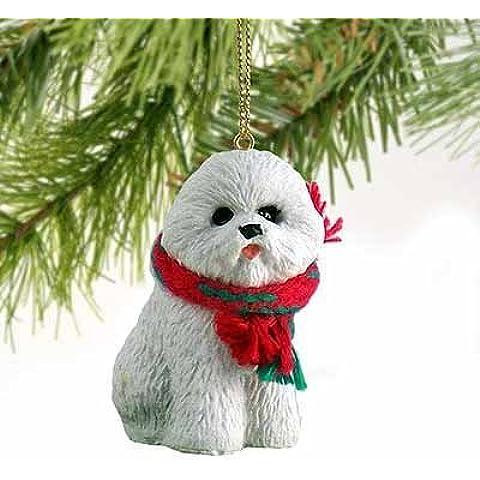 1 X Bichon Frise Miniature Dog Ornament by Conversation Concepts