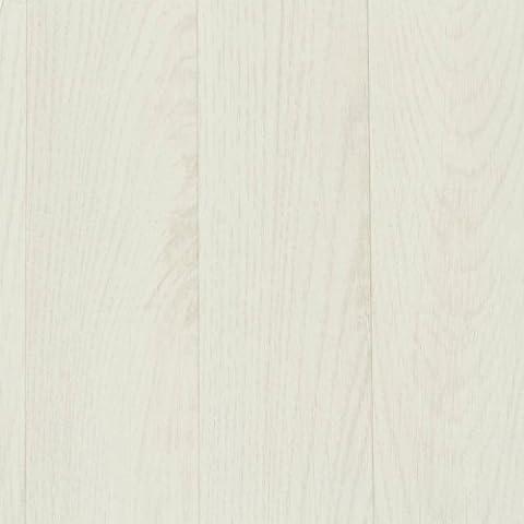 PVC Bodenbelag Holz Planken Weiss Gekalkt Breite 2 m (9,95 € p. m²)