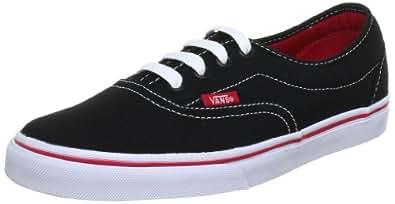 Vans U LPE BLACK/RED VRRR458, Unisex-Erwachsene Sneaker,  Schwarz (Black/Red), EU 38