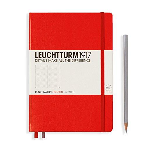 leuchtturm-1917medium-notebook-a5hardcover-points-red-3136277049