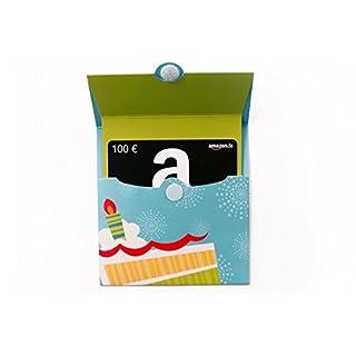 Amazon.de Geschenkkarte in Geschenkkuvert- 100 EUR (Geburtstagstorte)