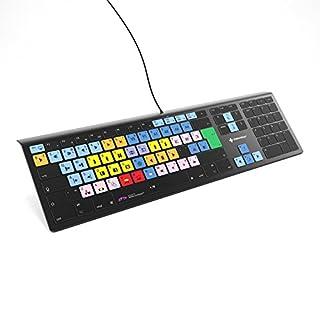 Avid Media Composer Keyboard - Backlit Illuminated Shortcut Keyboard - for MacOS by Editors Keys