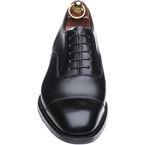 Herring  Herring Knightsbridge RUBBER, Oxford homme Noir - Black Calf