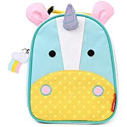 Skip Hop Zoo Lunchies - Bolsa térmica, diseño unicorn, color turquesa