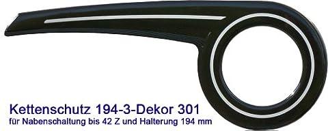 DEKAFORM Kettenschutz Easy Line 194-3 für Biria Conquest City Star Diamant Pegasus Fahrrad 26