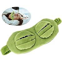 Frosch-Augenmaske, Schlaf-Augenmaske, Reise-Schlaf-Augenmaske Gepolsterte Schlafabdeckung für Rest Fun 100% Lichtblockade... preisvergleich bei billige-tabletten.eu
