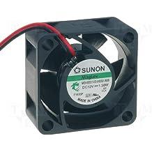 Sunon MB40201VX-A99 - Ventilador (40 x 40 x 20 mm, 12 VCC, 8200 rpm, 28 dBA, 2 conectores)