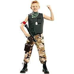 EUROCARNAVALES Disfraz de Soldado de Combate para niño