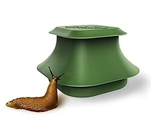 Trappola ed Esca per Lumache di SnailX | Prodotto Intelligente, Robusto, Pulito ed Estetico per una Lotta Efficace Contro le Lumache | Sicura per Bambini ed Animali Domestici | Set Base Antilumache