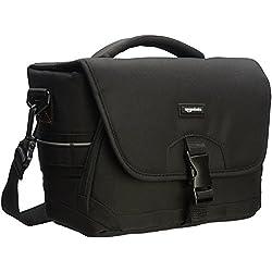 AmazonBasics Sacoche Gadget pour appareil photo reflex numérique et accessoires modèle M intérieur gris