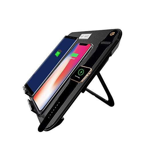 4-en-1 chargeur sans fil vertical pliable sans fil de chargement de téléphone mobile Watch multi-fonction de charge rapide base stand avec USB compatible iPhone 8/8P/X,S6/Edge/SDGE,NOTE 5 S7/S7 Edg