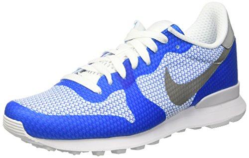Nike Internationalist Ns, Chaussures de Sport Homme Multicolore (Photo Blue/Metallic Silver/Wht)