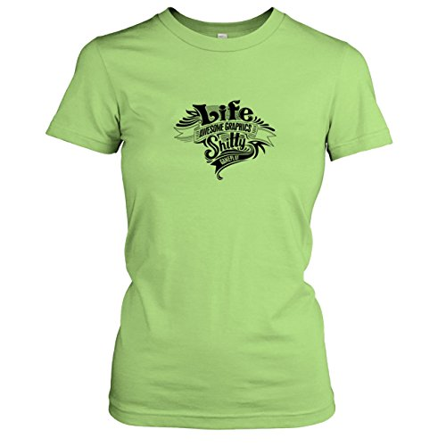 TEXLAB - Game of Life - Damen T-Shirt Kiwi