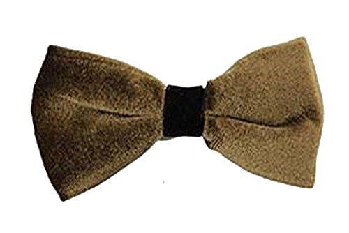 New Herren Samt Gold Fliege Schleife Smart Tux trendige Hochzeit Party Stil