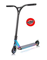 Outrage Chrome Pro Stunt Scooter - Ultimate 2018 Neo Custom Trick (Neochrome)