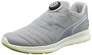 Puma Ignite Disc, Unisex Adults Fitness, White (Quarry/White 05), 9.5 UK (44 EU)