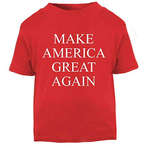 Make America Great Again Donald Trump Baby and Toddler Short Sleeve T-Shirt - America Tee