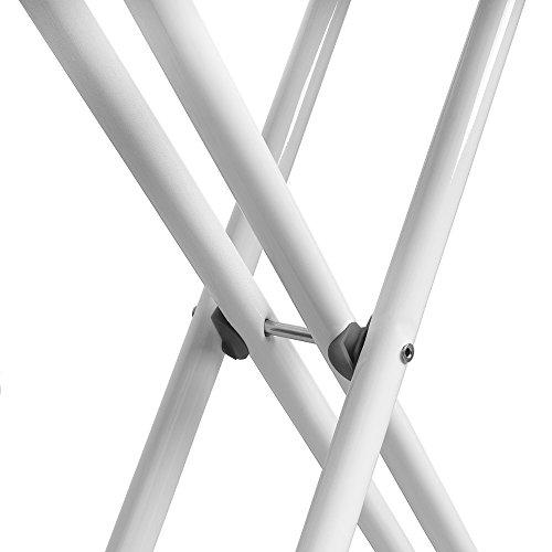 Bügeltisch easyflex Present – 135x35cm – höhenverstellbar + Bügeleisenablage - 3