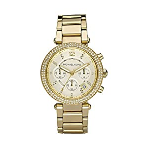 Michael Kors Damen-Armbanduhr Rund Analog Quarz