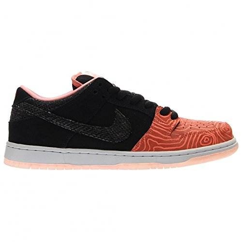 Nike Dunk Low Premium Sb, Chaussures de Skate Homme Multicolore - Rosa / Negro / Blanco (Atomic Pink / Black-White)