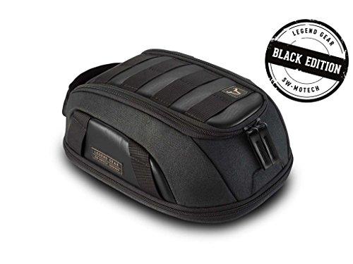 SW-MOTECH Legend Gear Tankrucksack LT1 - Black Edition 3,0 l - 5,5 l. Magnet-Halterung. Wasserabweisend