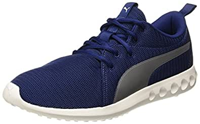 Puma Unisex Carson 2 Blue Depths-Asphalt Running Shoes-10 UK/India (44.5 EU)(19100302)