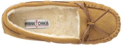 Minnetonka - 4010, Pantofole A Casa da donna Rosso (Whitedeerskin)