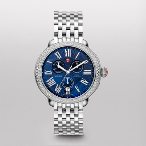 Michele Serein Diamond Blue Dial Mww21a000026