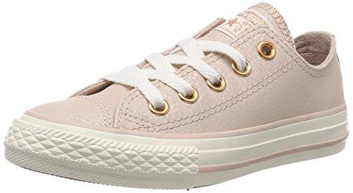 Converse Mädchen Chuck Taylor All Star OX Sneaker, Pink Rosa, 28 EU (Converse Rosa Mädchen Schuhe)