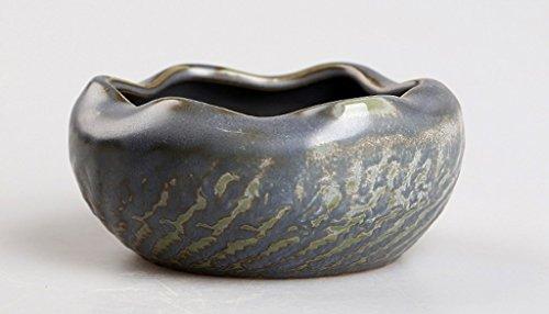 Dachui posacenere, creative personalità del mondo della moda di tendenza incantevole multifunzione stanza vivente posacenere in ceramica senza coperchio portable (colore : #3)