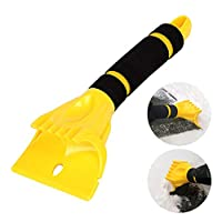 Gorgebuy Car Windshield Snow Shovel Scraping - Ice Scraper Car Windshield Snow Scraper, Frost Ice Snow Removal Tools for Car SUV Truck Windshield