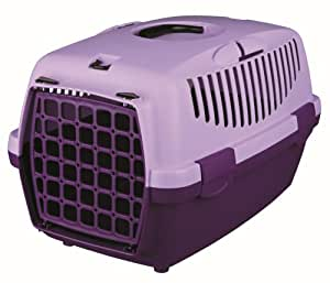 Trixie Pet Carrier For Cats Small Dogs Or Rabbits - Violet/Lilac