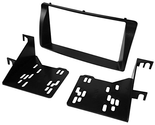 Preisvergleich Produktbild Aerzetix - Autoradio Adapter Radio Blende Autoradio Rahmen Adapter 2 DIN Schwarz