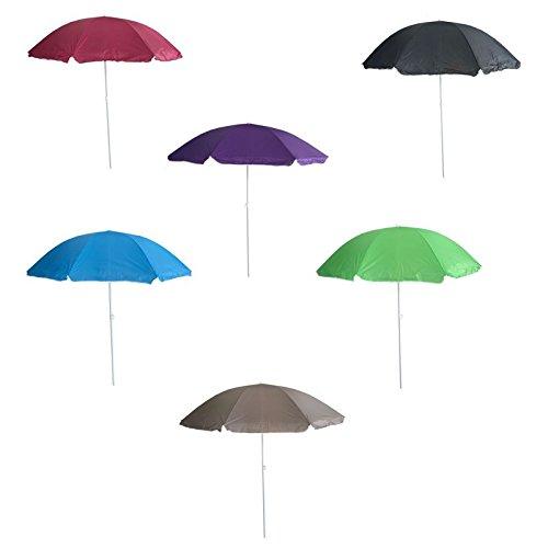Camping Strandschirm Sonnenschirm Gartenschirm Sonnenschutz Schirm in 6 Farben