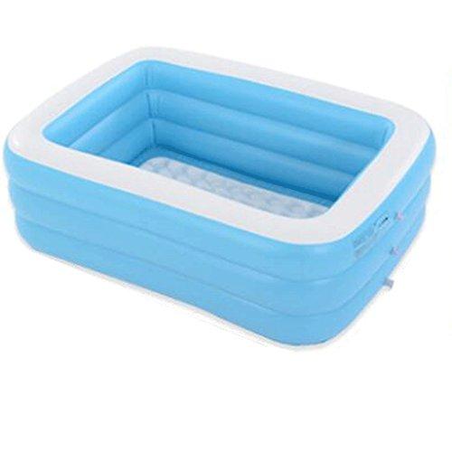 Kostüm Gefüllt Luft - Aufblasbare Baby-Pool Doppel Erwachsene mit Erwachsenen Badehaar Paar aufblasbare Badewanne Kind Bad Eimer Falten Wanne Schwimmbad (Size : 150 * 110 * 50cm)