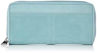 ESPRIT Womens In Lederoptik Wallets 054EA1V016 Green (Dark Frozen Mint 302), 20x10x1 cm (B x H x T)