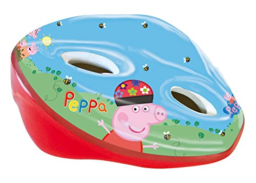 Fahrradhelm Helmet Kind Kinder Mädchen Peppa Pepa Pig George Homologado 6125 (Peppa Pig-konstruktion)