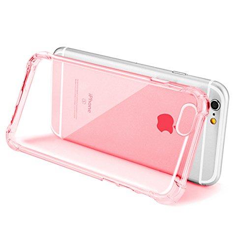 """Hülle für iPhone 7/8 Plus, xhorizon Transparente Handyhülle mit Hartplastik und weicher TPU Gel zum Schutz vor Stößen für iPhone 7 Plus/ iPhone 8 Plus [5.5""""] #5"""