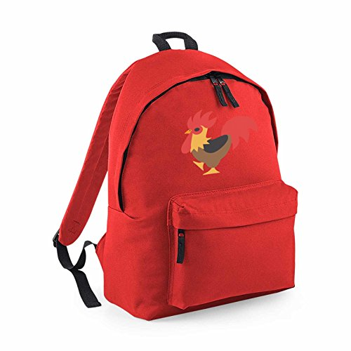 apparel-printing-emoji-rooster-fashion-backpack-bright-red