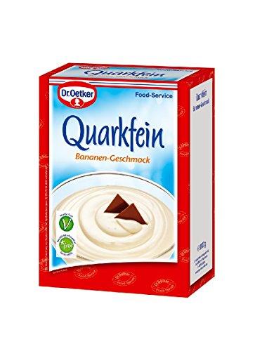 Preisvergleich Produktbild Dr. Oetker Quarkfein Bananen-Geschmack 1 kg,  1er Pack (1 x 1 kg)