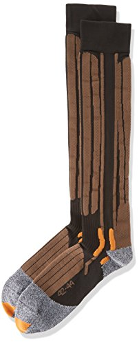 X-Socks Funktionssocken Riding Long, Brown, 39/41, X020347